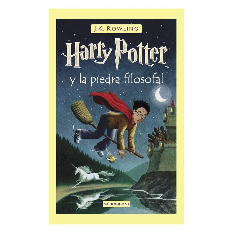 SALAMANDRA - Harry Potter Y La Piedra Filosofal 1 Tapa Dura