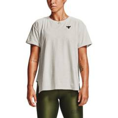 UNDER ARMOUR - Polo Project Rock CC SS Training Mujer