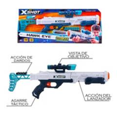 X-SHOT - Lanzador De Dardos Ojo De Halcón
