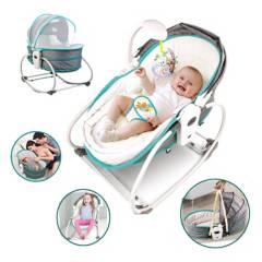 BABY WORLD - Silla Mecedora Portátil Multifuncional 5 en 1