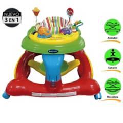 BABY KITS - Andador 3 en 1 Centro de Actividad 360°