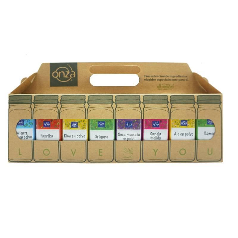 ONZA - Lonchera Condimentos Pack x 16 Potes