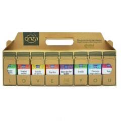 ONZA - Lonchera LoveU1 Condimentos Pack x8