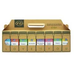 ONZA - Lonchera LoveU2 Condimentos Pack x8