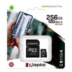 KINGSTON - Micro SD 256GB + Adaptador SD