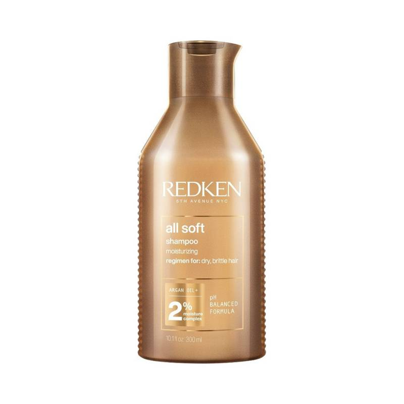 REDKEN - Shampoo All Soft Para Cabello Seco 300 ml