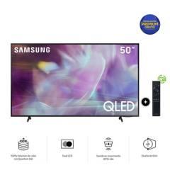 SAMSUNG - Televisor Qled 4K 50Q60AA