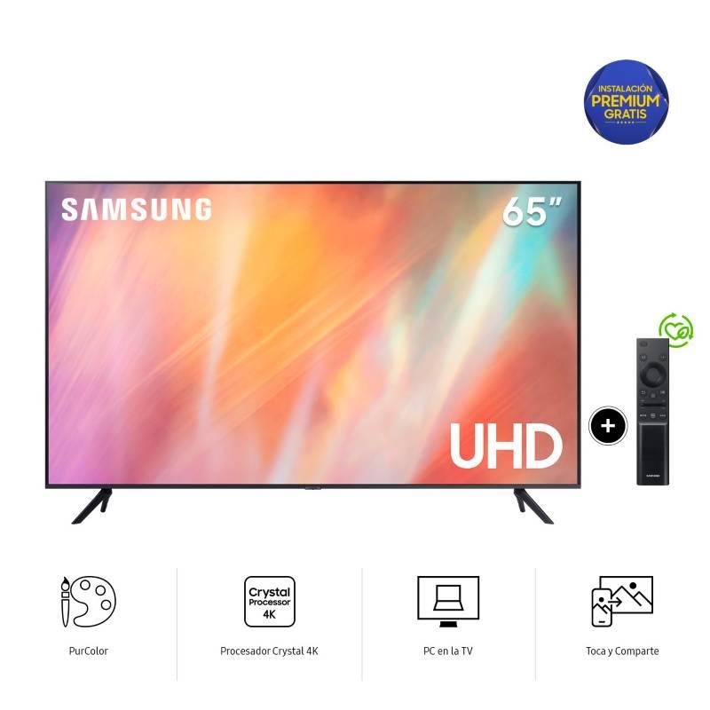SAMSUNG - Televisor UHD 4K  65AU7000