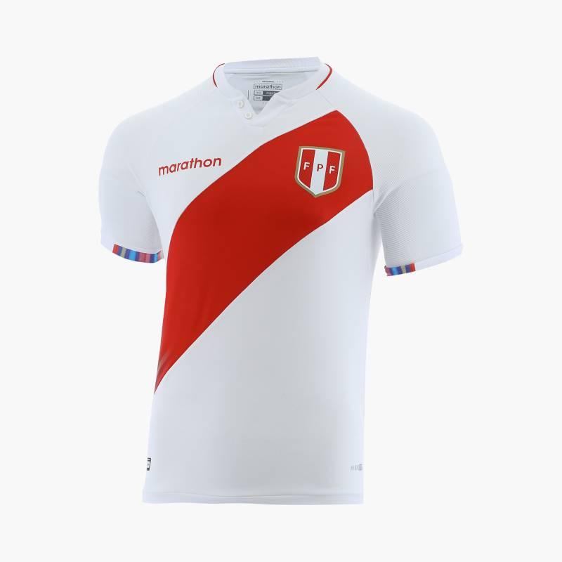 MARATHON SPORTS - Camiseta Deportiva FPF Oficial Home Fútbol Hombre