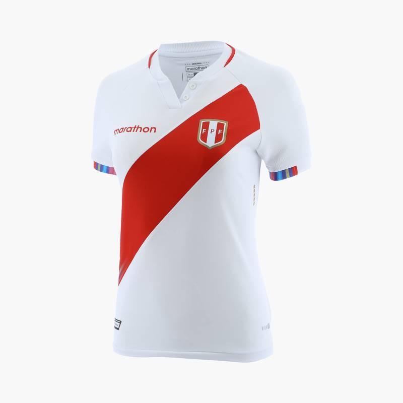 MARATHON SPORTS - Camiseta Deportiva FPF Estadio Home Fútbol Mujer