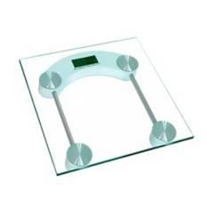 SM - Balanza Digital de Vidrio 180 kg