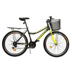 MONARETTE - Bicicleta Urbana Master City Aro 26 Unisex