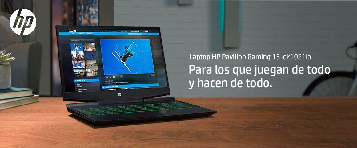 Laptop Gamer con diseño agresivo