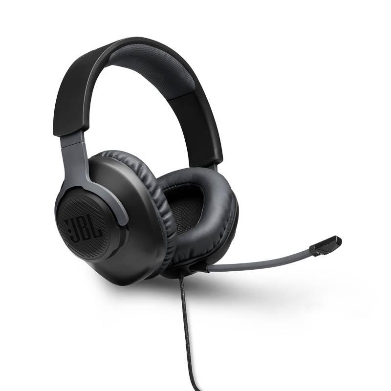 JBL - JBL QUANTUM HEADPHONES Q100 BLACK