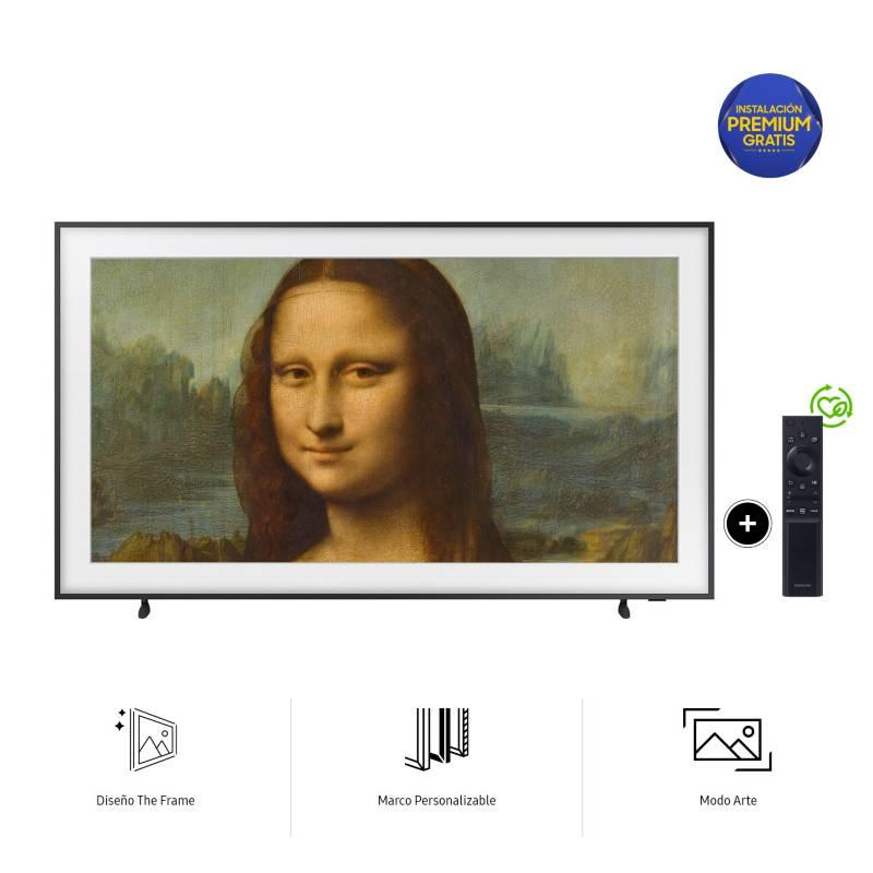 SAMSUNG - Televisor Qled 4K THE FRAME 65LS03AA