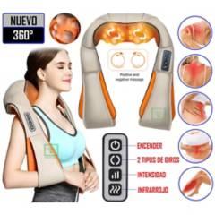 GENERICO - Masajeador de Cuello/Espalda/Cuerpo Infrarrojo