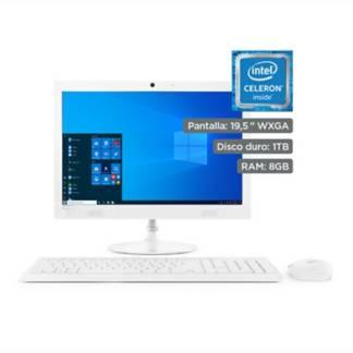 "LENOVO - All in One Lenovo IdeaCentre AIO 330  19.5""  Intel Celeron  8GB RAM  1TB HDD"