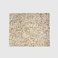 PRATELLI - Alfombra de Cuero Gris Claro Cercal 200x300cm
