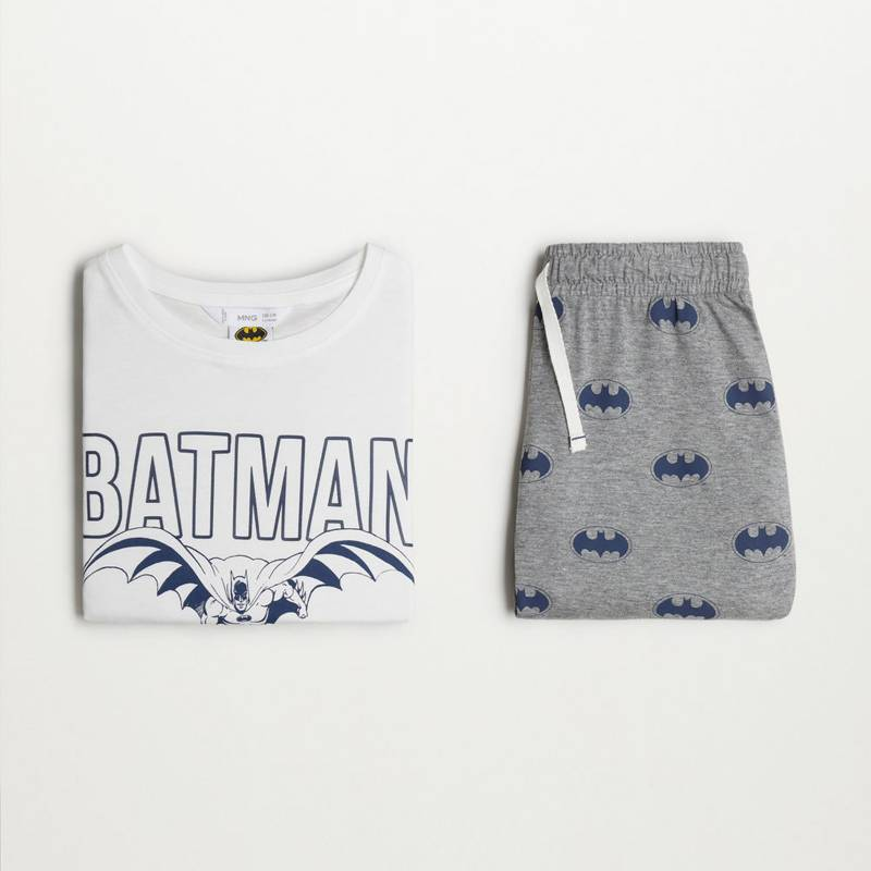 MANGO KIDS - Pijama Pack Batman Algodón Organico Niño