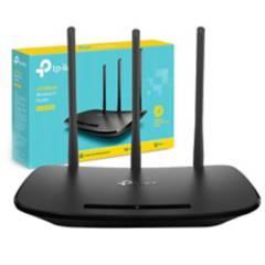 TP-LINK - Router  Inalámbrico Wifi Repetidor 3 Antenas