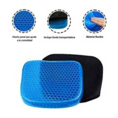SM - Asiento Cojín Flexible Gel Confortable
