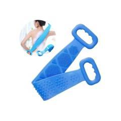 GENERICO - Cepillo de Silicona para Cuerpo Espalda Ducha