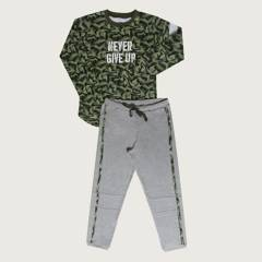 PALMERS - Pijama Boys Interlock Militar