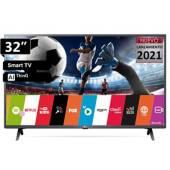 "LG - Televisor LED 32"" AI ThinQ Smart HD 32LM637B"