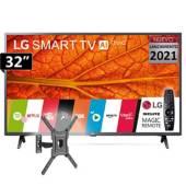 LG - TV LED AI ThinQ Smart 32LM637B + Magic + Rack