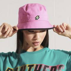 Superdry - Gorra Bucket Mujer Superdry