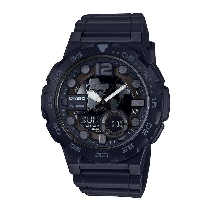 CASIO - Reloj Análogo Digital Hombre AEQ-100W-1B Casio