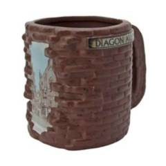 ABYSTYLE - Taza Harry Potter Diagon Alley 3D Mug
