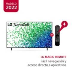 "LG - Televisor 55"" LG NanoCell 4K Ultra HD ThinQ AI 55NANO80SPA (2021)"