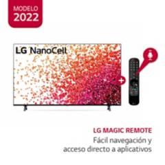 "LG - Televisor 65"" LG NanoCell 4K Ultra HD ThinQ AI 65NANO75SPA (2021)"