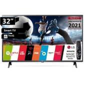 """LG - MP _ TV LED 32"""" AI ThinQ Smart HD 32LM637B + Magic"""