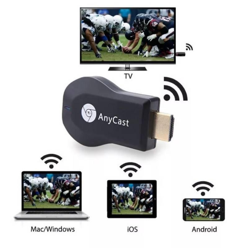 GENERICO - Anycast Proyección M12 Plus TV Smart 1080P HD