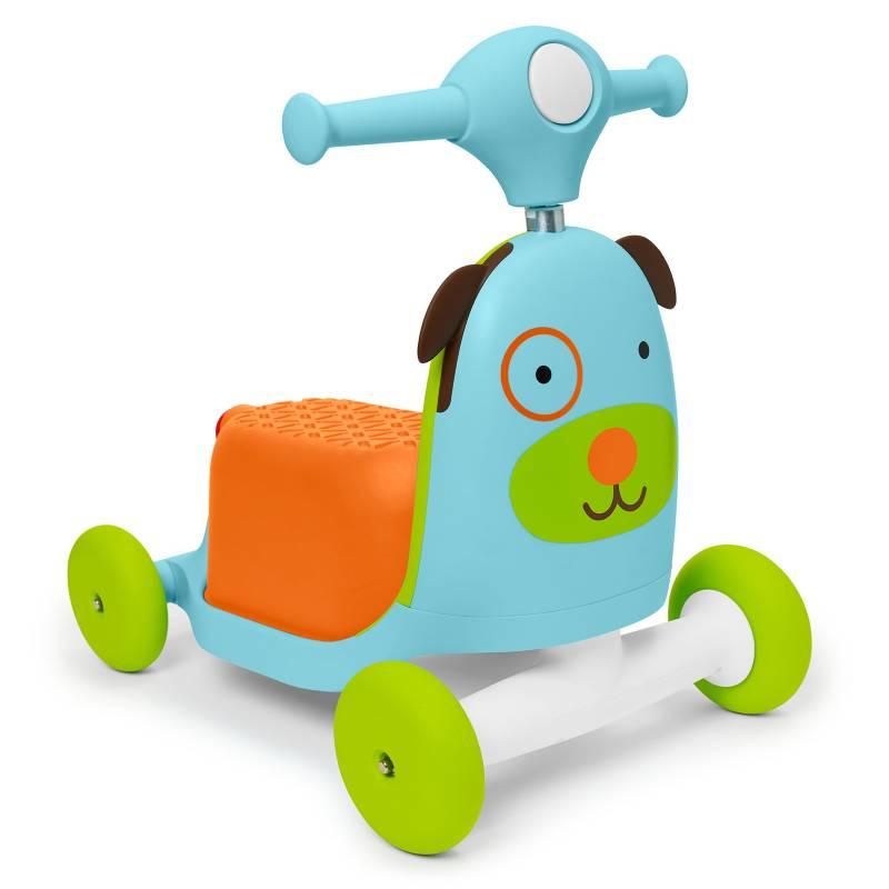 SKIP HOP - Scooter 3 En 1 Perro Zoo