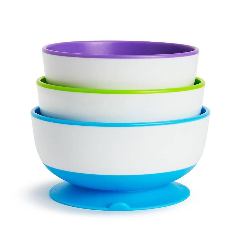 MUNCHKIN - Set De 3 Bowls Antideslizante