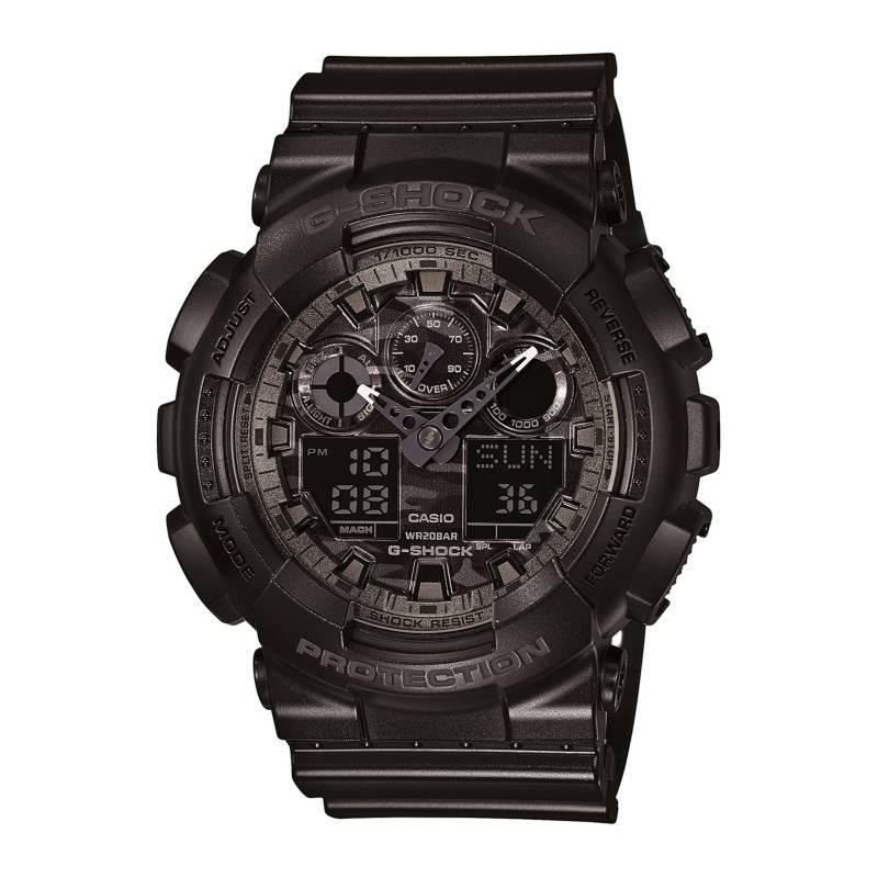 CASIO - Reloj Análogo/Digital Hombre GA-100CF-1A Casio