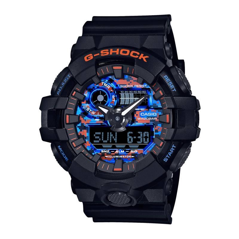 CASIO - Reloj Análogo/Digital Hombre GA-700CT-1A Casio