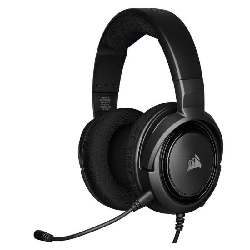 CORSAIR - GAMING HEADSET HS35 STEREO CARBON