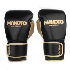 MAKOTO - Guantes de Boxeo Makoto Basic BK/GD 14oz