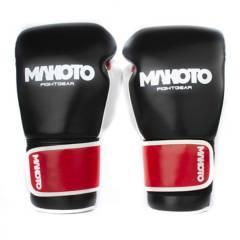 MAKOTO - Guantes de Boxeo Makoto Basic BK/RD 14oz