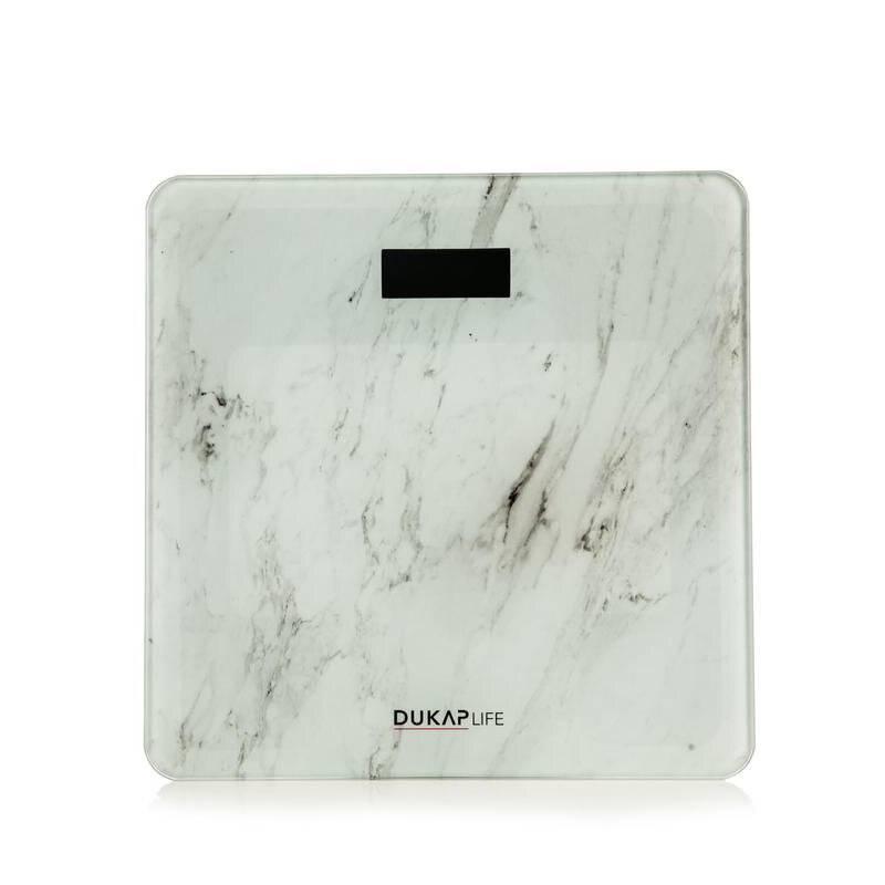 DUKAP - Balanza Blanco Marmoleado - BABM