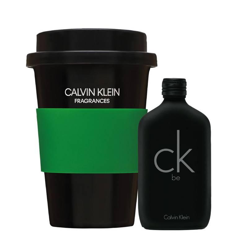 CALVIN KLEIN - Calvin Klein Pack CK Be Edt 50 ml + Mug CK Negro