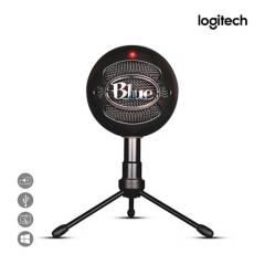 LOGITECH - Micrófono Blue Snowball Ice Cardioide C/Soporte USB Negro