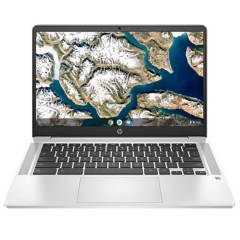 "HP - Laptop 14"" Chromebook 14-NA0031 Pentium Silver N5000 4GB RAM 64GB SSD Chrome Reacondicionado"