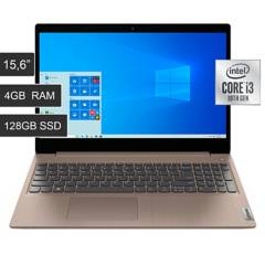"LENOVO - Laptop 15.6"" LEN-81WE0016US Core i3 10º 4GB RAM 128GB SSD Windows 10 Reacondicionado"