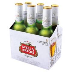 STELLA ARTOIS - Six Pack Cerveza Stella Artois 330ml