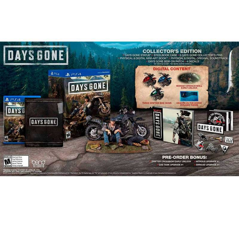 PLAY STATION - Days Gone Collector`s Edition